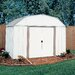 <strong>Lexington 10' W x 8' D Steel Storage Shed</strong> by Arrow