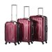 Velocity 3 Piece Hardsided Spinner Luggage Set
