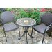 <strong>Torello 3 Piece Round Standard Dining Set with San Tropez Chair</strong> by Europa Leisure