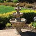<strong>Bond Manufacturing</strong> Napa Valley Fiberglass 3 Tiered Fountain