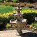 Bond Manufacturing Napa Valley Fiberglass 3 Tiered Fountain