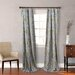 <strong>Milan Gray Cotton Lined Window Panels (Set of 2)</strong> by City Scene