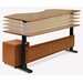 "<strong>Jesper Office Motorized Standing Desk in Wood 63"" Top</strong> by Jesper Office"