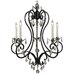Framburg Liebestraum 5 Light Dining Chandelier