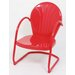 <strong>Atlantic Outdoor</strong> Metal Tulip Dining Arm Chair