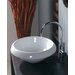 Ceramica 16.1&quot; x 16.1&quot; Vessel Sink in White