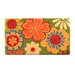 <strong>Summer Flower Coir Doormat</strong> by Design by AKRO