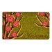 <strong>Welcome Floral Coir Doormat</strong> by Design by AKRO