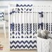 <strong>Zig Zag Baby 4 Piece Crib Bedding Set</strong> by New Arrivals