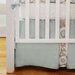 New Arrivals Picket Fence 2 Piece Crib Bedding Set