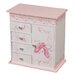 Cristiana Girl's Musical Ballerina Jewelry Box