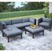 <strong>dCOR design</strong> Oakland 6 Piece Lounge Seating Group with Cushion