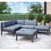 <strong>Oakland 5 Piece Lounge Seating Group with Cushion</strong> by dCOR design