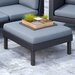 <strong>Oakland Patio Ottoman with Cushion</strong> by dCOR design