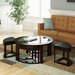 <strong>dCOR design</strong> Belgrove Coffee Table with 4 Stools