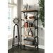 "<strong>Industria 68"" Bookcase</strong> by Crestview Collection"