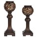 <strong>Traditions 2 Piece Resin Cheyenne Candle Holder Set</strong> by Crestview Collection
