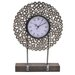 <strong>Crestview Collection</strong> Manhattan Metal Washer Table Clock