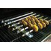 Charcoal Companion Steven Raichlen Stainless Steel Kabob Rack with Six Skewers Set