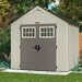 "<strong>Suncast</strong> Tremont 8'38"" W x 7'15"" D Resin Storage Shed"