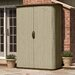 "<strong>Suncast</strong> 5'10.5"" W x 2'6"" D Resin Storage Shed"