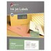Matte Clear Address Labels, 1/2 x 1 3/4, 2000/Pack
