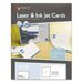 Maco Tag & Label Unruled Index Cards, 100/Box