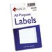 <strong>Maco Tag & Label</strong> Multipurpose Self-Adhesive Removable Labels, 160/Pack