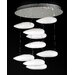 <strong>PLC Lighting</strong> Aquarium 9 Light Chandelier