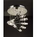 Luxor 12 Light Semi Flush Mount