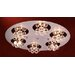 Bolero 18 Light Semi Flush Mount