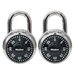 Combination Padlocks (Pack of 2)