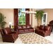 <strong>Abbyson Living</strong> Bel Air 3 Piece Hand Rubbed Leather Sofa, Loveseat, and Armchair