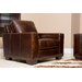 <strong>Beverly Hand Rubbed Leather Armchair</strong> by Abbyson Living