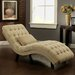 Abbyson Living Carmen Fabric Chaise Lounge