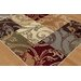 Tayse Rugs Impressions Multi Detailed Filigree Rug