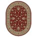 Sensation Red Border Rug