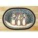 <strong>Three Snowmen Novelty Rug</strong> by Earth Rugs