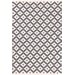<strong>Dash and Albert Rugs</strong> Samode Graphite Ivory Indoor/Outdoor Rug