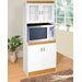 Hazelwood Home Tall Kitchen Cabinet