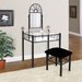 Hazelwood Home Vanity Set with Mirror