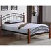 Hazelwood Home Sam Metal Wrought Iron Bed