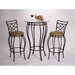<strong>3 Piece Pub Table Set</strong> by Hazelwood Home