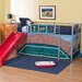 <strong>Fantasy Junior Twin Loft Bed with Slide</strong> by DHP