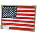 Corrugated US Flag