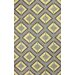 <strong>Cine Yellow and Grey Darlene Rug</strong> by nuLOOM