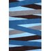 <strong>Evolution Blue Blanche Rug</strong> by nuLOOM