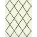 <strong>Shaggy Brown Trellis Shag Rug</strong> by nuLOOM
