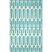 <strong>Varanas Sky Blue Anglang Rug</strong> by nuLOOM
