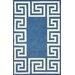 nuLOOM Filigree Blue/White Santorini Area Rug